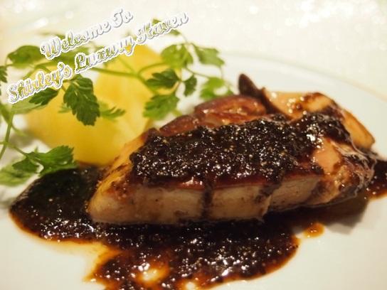 ginza hama steak house teppanyaki foie gras