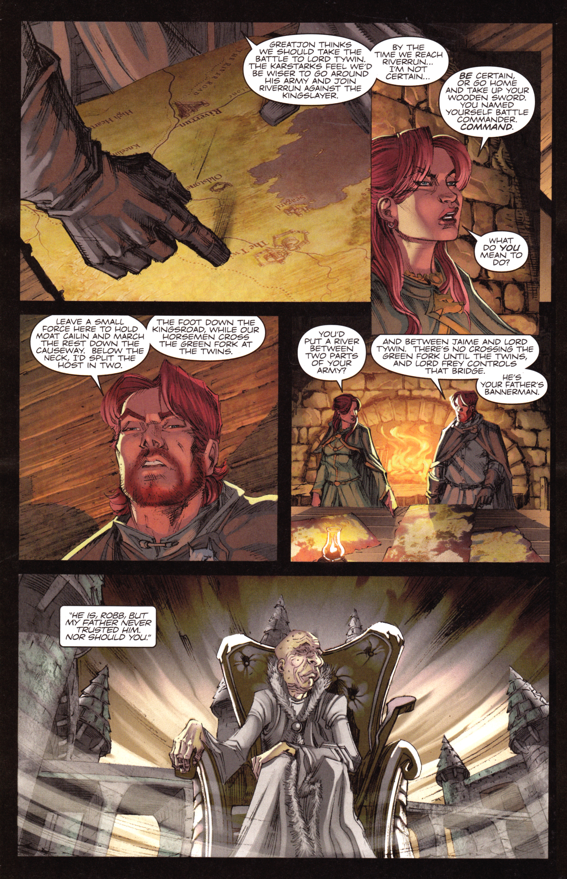 Read online A Game Of Thrones comic -  Issue #18 - 12