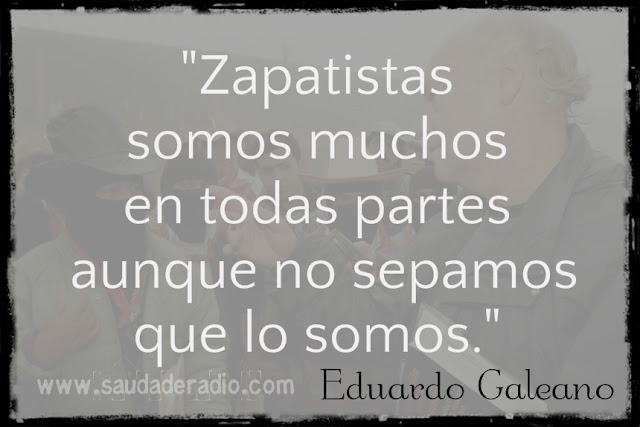 Palabras de Eduardo Galeano sobre el zapatismo en la Sala Nezahualcoyotl de Ciudad Universitaria en México D.F. 2009