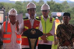 Jokowi Resmikan Proyek Tol Pertama di Aceh Rp 12 T