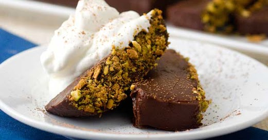 Dying For Chocolate Gluten Free No Bake Pistachio