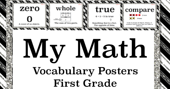 **Wolfelicious**: My Math Vocabulary Posters