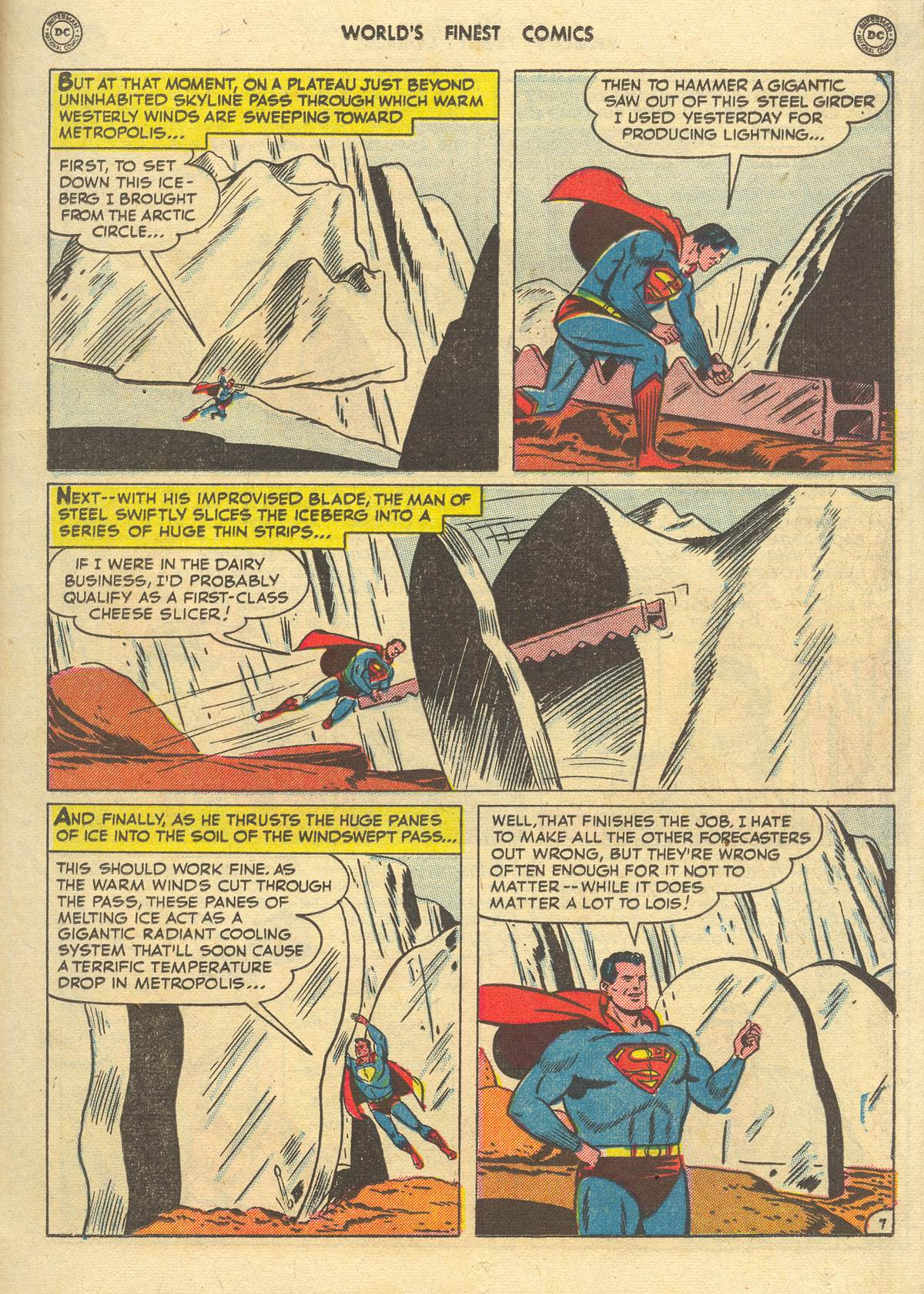 Read online World's Finest Comics comic -  Issue #51 - 9