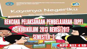 RPP Tematik Kelas 4 SD Tema 9 SEMESTER 2 Kurikulum 2013 Revisi 2017