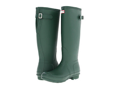 botas de caucho verdes