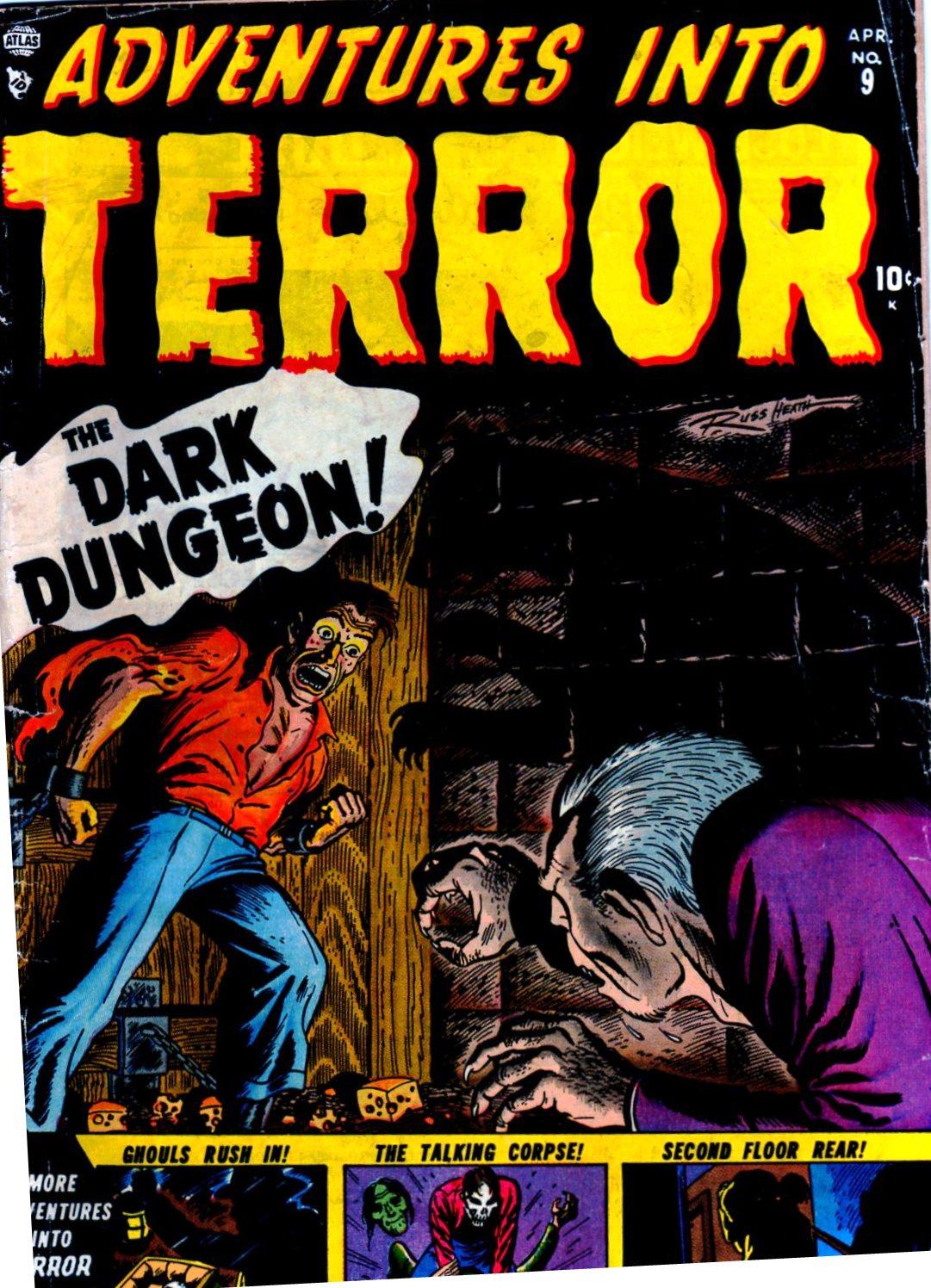 Adventures into Terror 9 Page 1