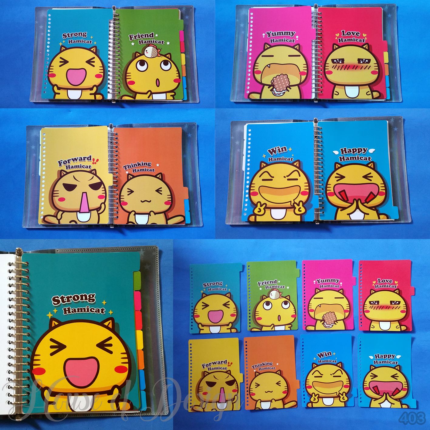 PAKET PEMBATAS BINDER SAMPING, PEMBATAS BINDER, DIVIDER BINDER CUSTOM, PEMBATAS BINDER CUSTOM, PEMBATAS BINDER 20 RING UKURAN A5 CUSTOM, PEMBATAS BINDER SAMPING, PEMBATAS BINDER HAMICAT, PEMBATAS BINDER CUTE CAT, PEMBATAS BINDER COLOR FULL