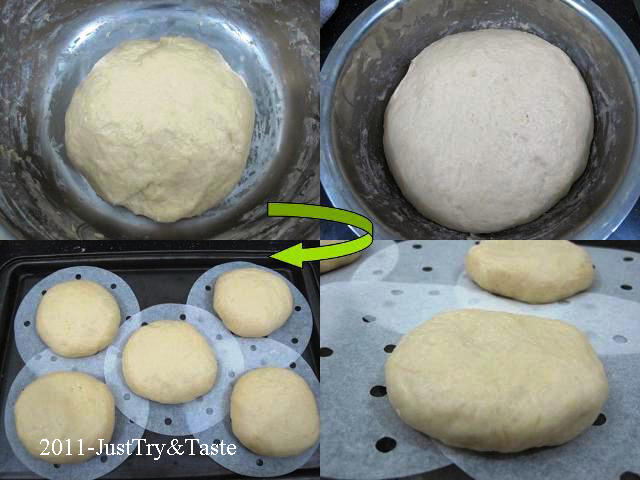 Obsesi Roti 7: Membuat Roti Burger - Burger Bun JTT