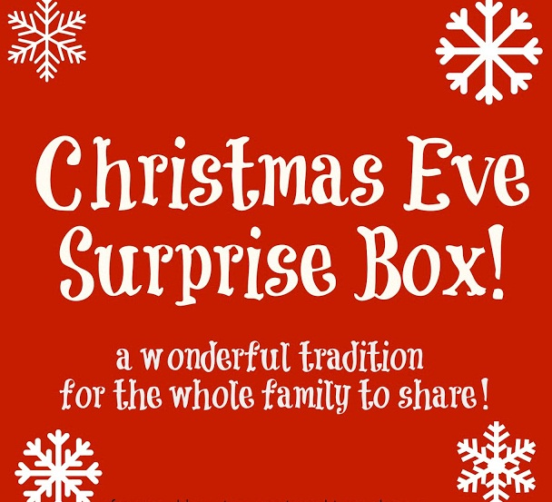 The Domestic Curator: Christmas Eve Party-In-A-Box