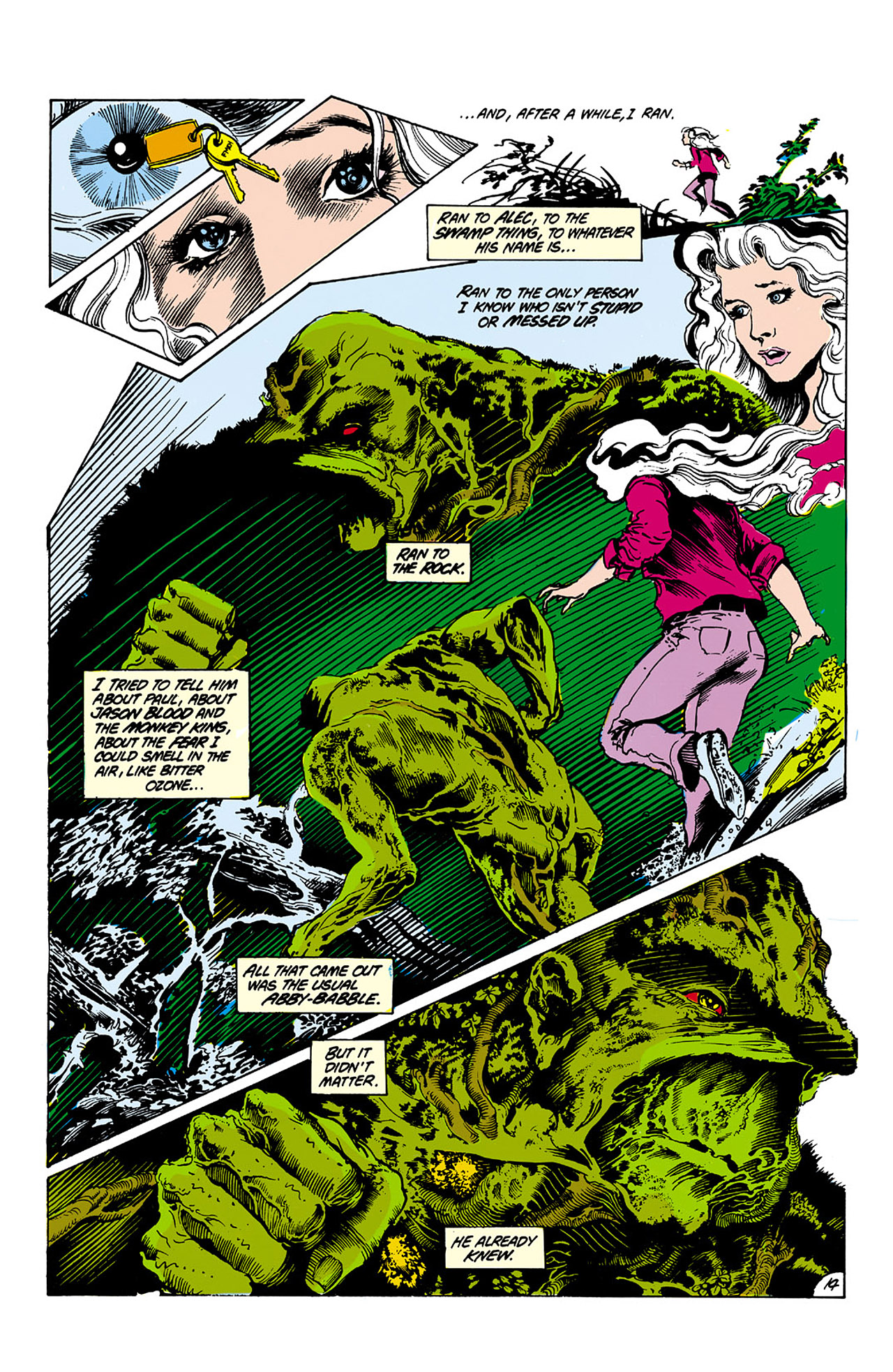Swamp Thing (1982) Issue #26 #34 - English 14