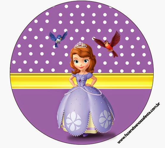 Sofia the First Free Printable Candy Bar Labels Oh My Fiesta! in