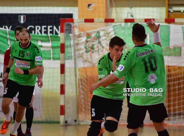 Δύσκολη νίκη του Διομήδη στην Νάουσα με 27-26 για το κύπελλο