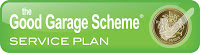 Good Garage Scheme, Service Plan, Tick, pound coin, logo