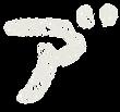 カタカナのペンキ文字「ア゛」