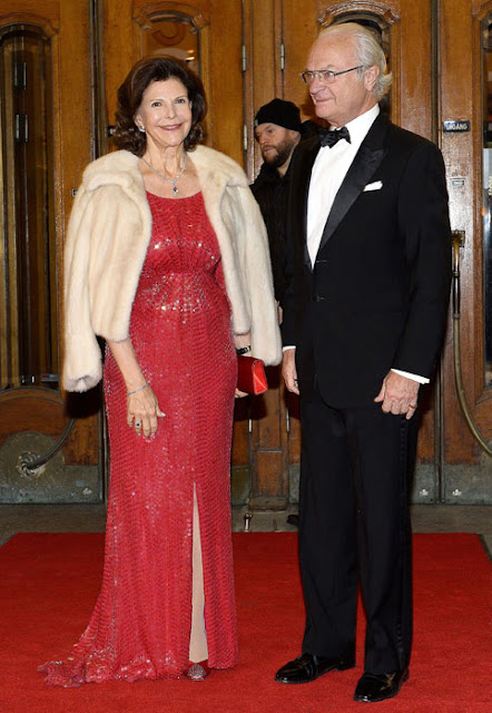 You can watch the concert  given  on 19 December for  Queen Silvia's 70th birthday