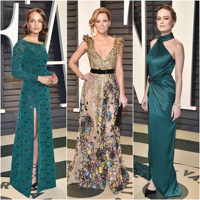 Looks festa pós Oscar 2017