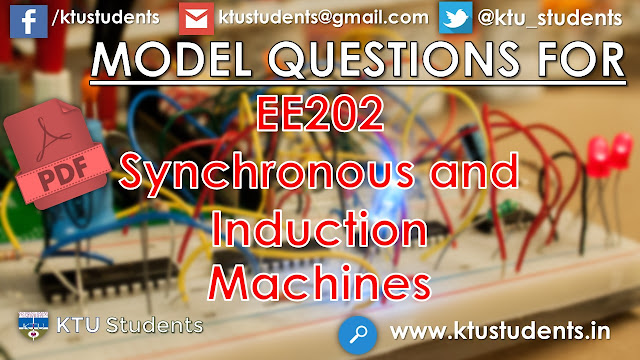 ktu ee202 model question paper