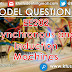 Model Question Paper for EE202 Synchronous and Induction Machines