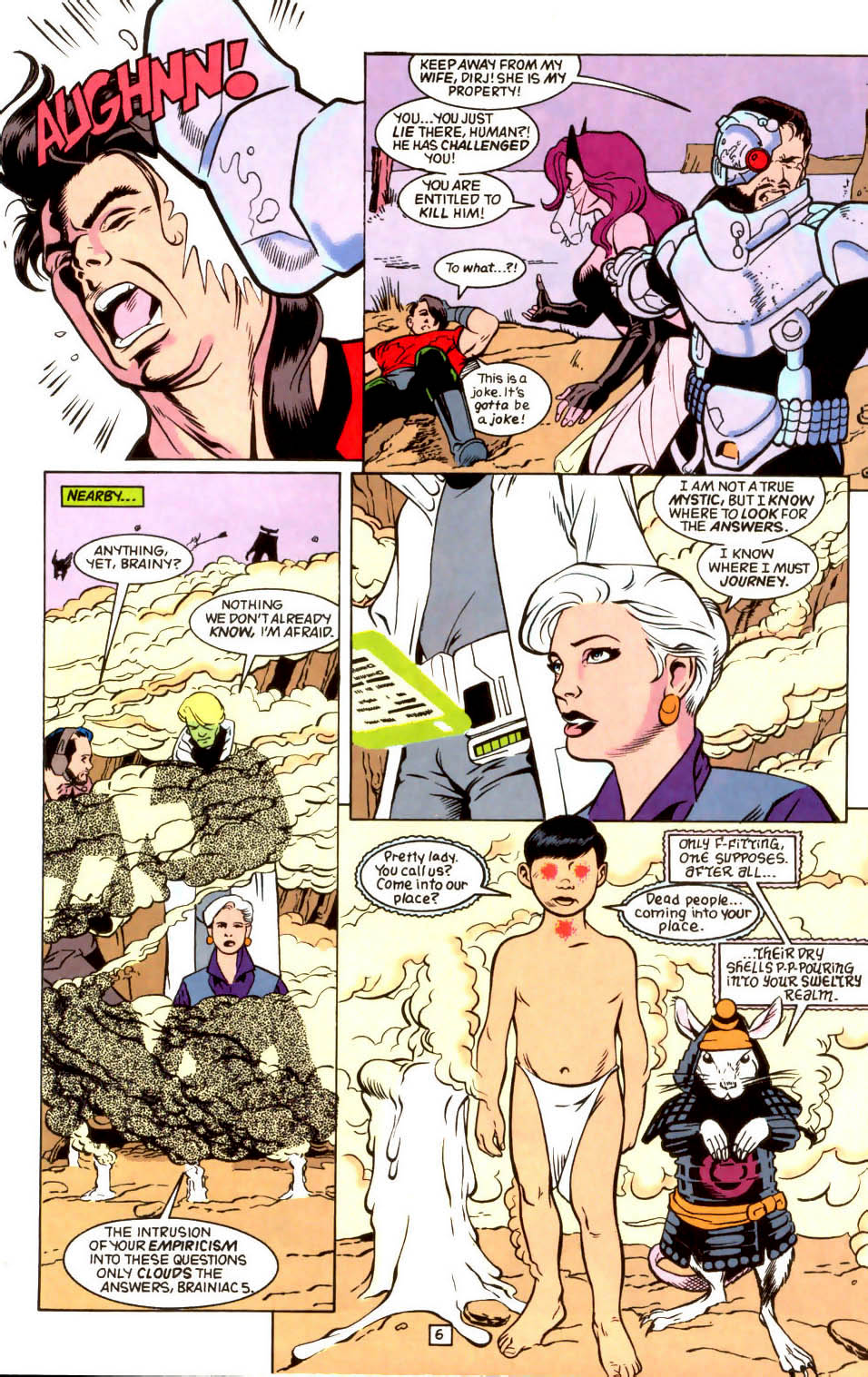 Legion of Super-Heroes (1989) 45 Page 5