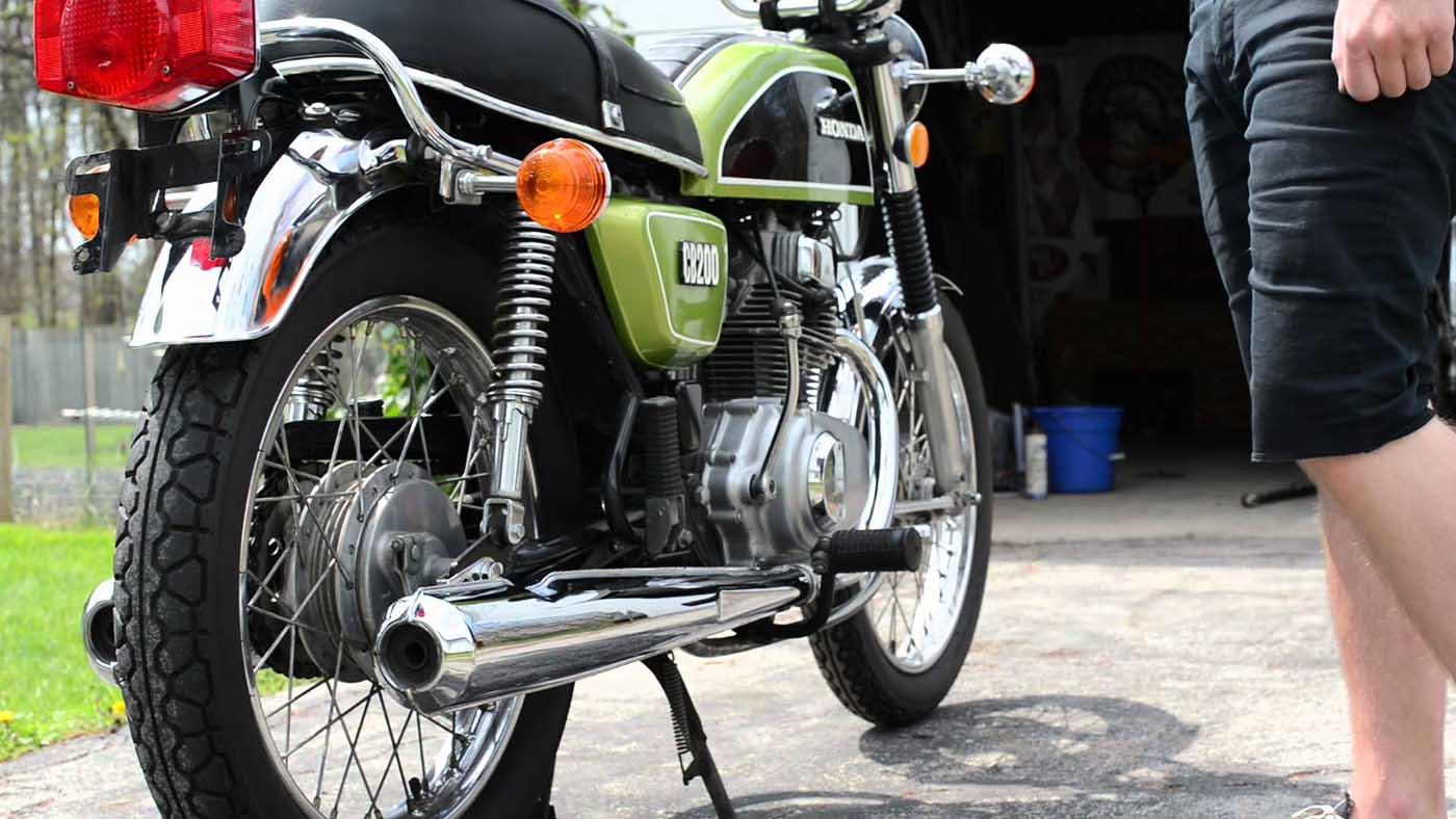 Honda CB200 Twin Klasik Langka