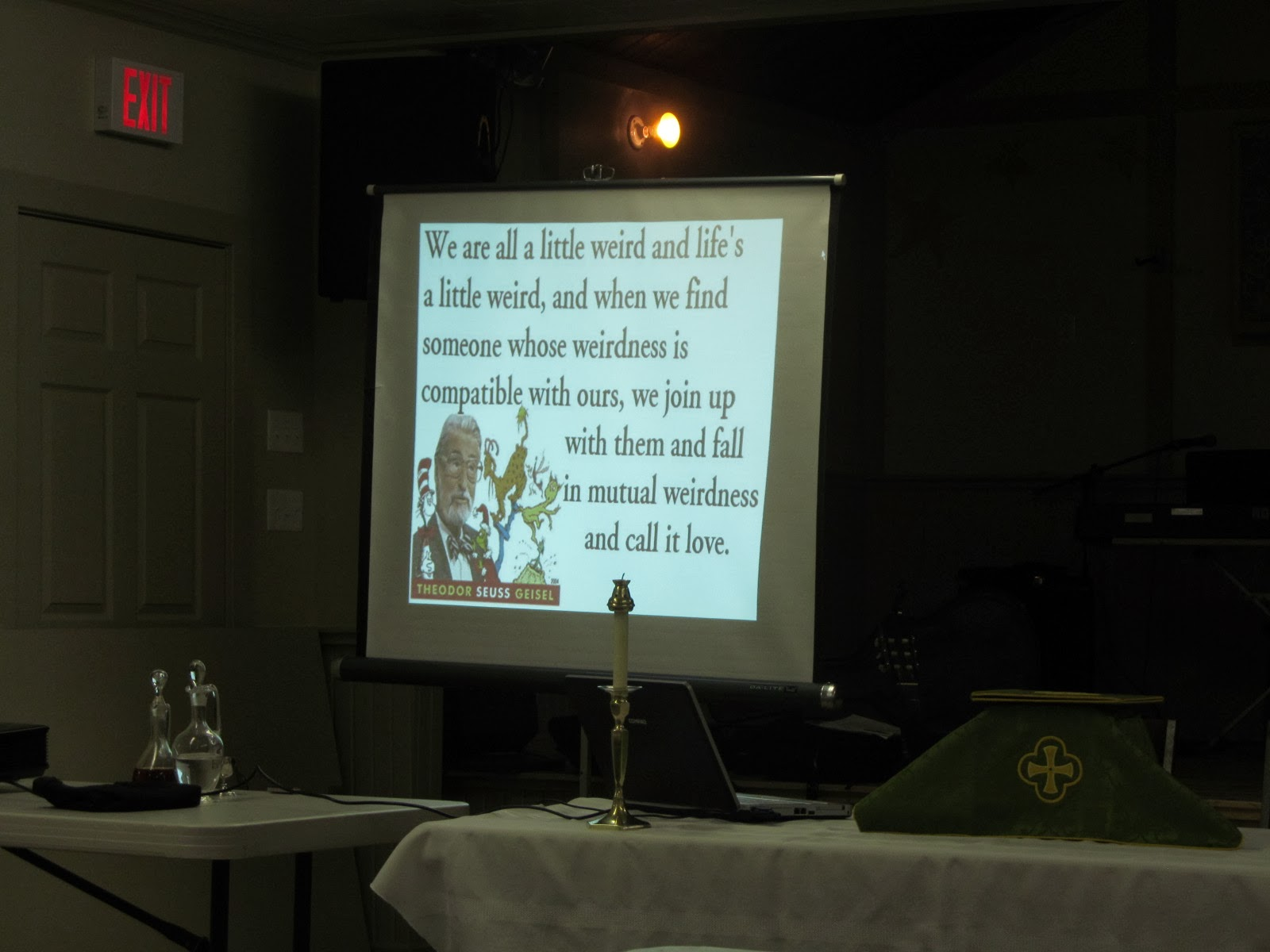 The Anglican Parish Of Alberton Oleary Dr Seuss Eucharist Side