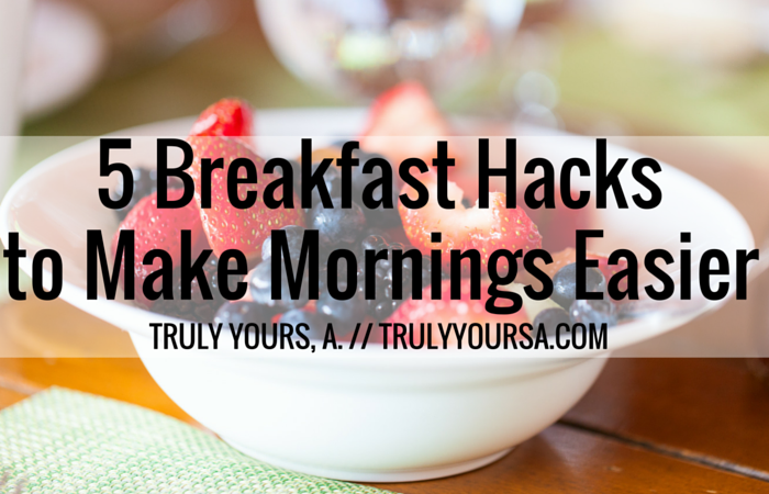 Think you're too busy and don't have time for breakfast? I've got 5 super healthy breakfast hacks for any busybody on the go. Still looking for a burst of vitamins and minerals? Try Centrum Raspberry Vitamints and Gummies for a simple solution to staying healthy!