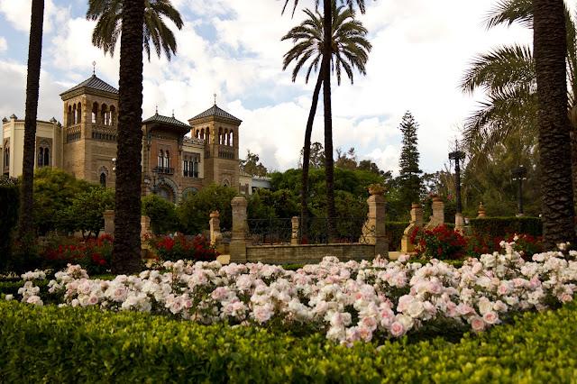 Parque de María Luisa em Sevilha