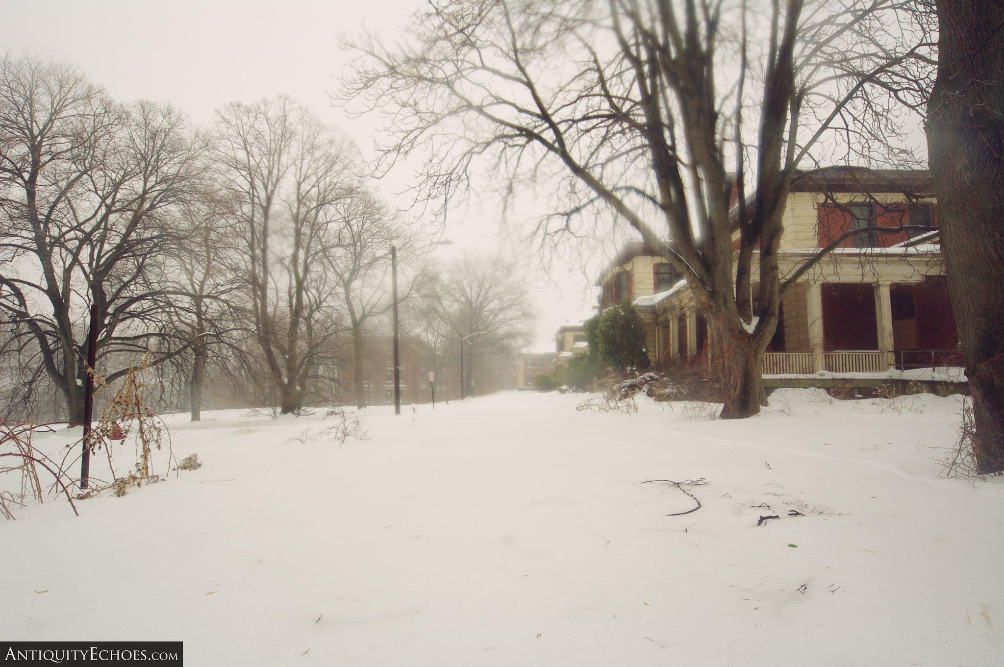 Overbrook Asylum - A Freezing Fog