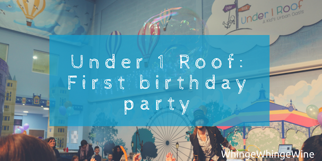 The Under 1 Roof kids' urban oasis Woolwich Arsenal Greenwich, first birthday party and review