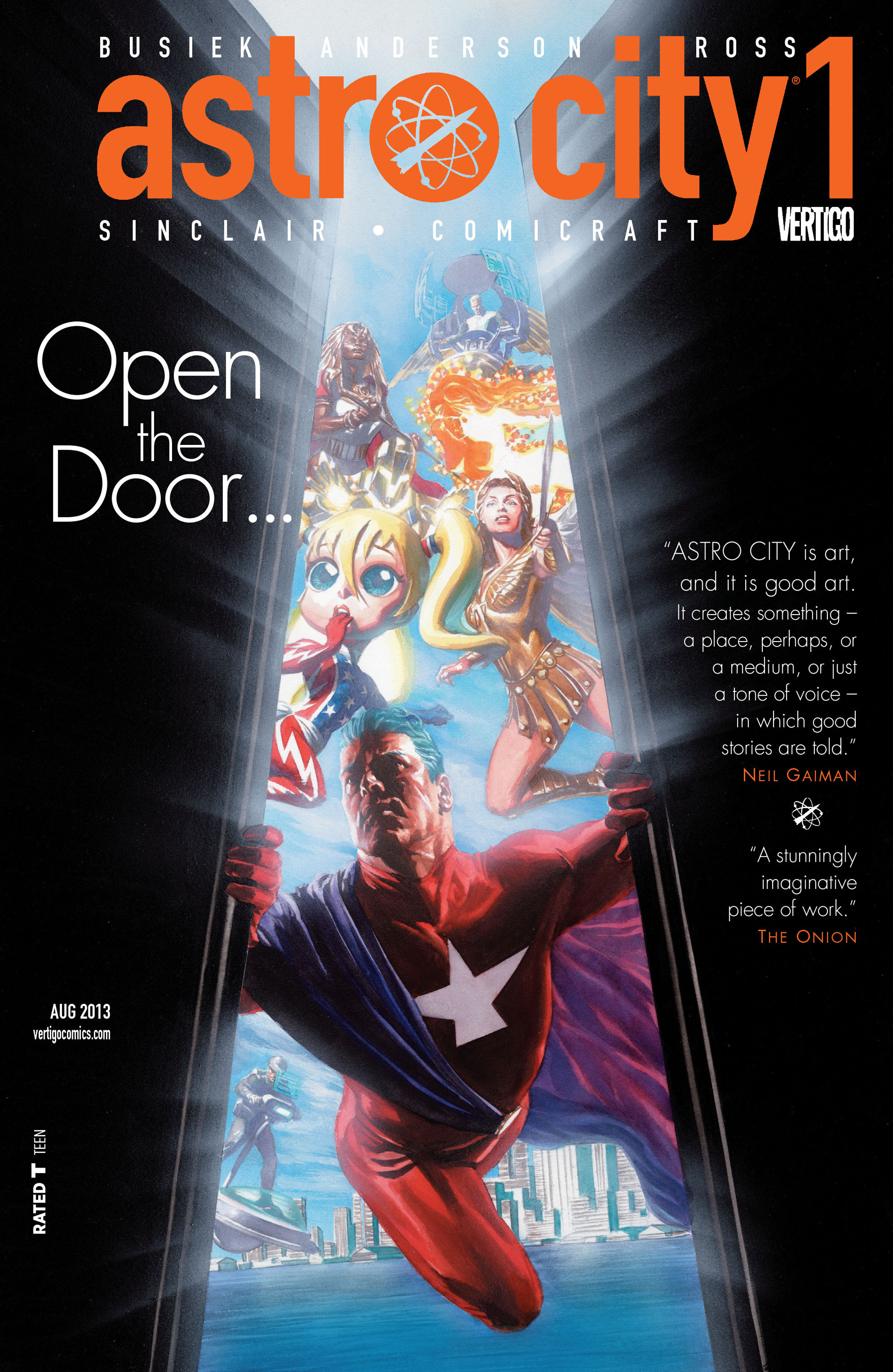 Read online Astro City comic -  Issue #1 - 1