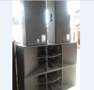 Box speaker kurang nendang