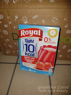 Gelatina light Royal Caja Degustabox Julio ´16