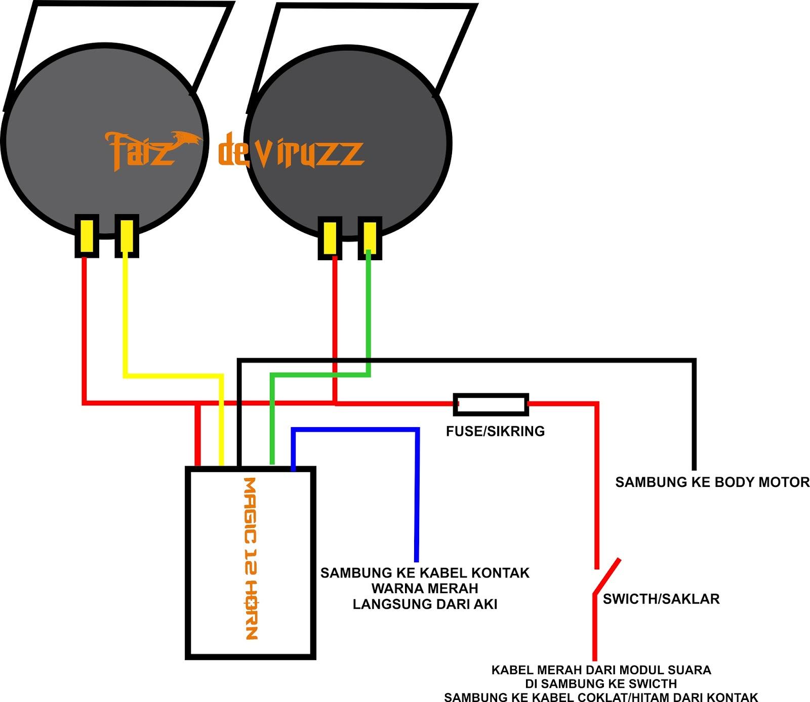 Aero xriders indonesia pasang klakson echo 12 suara di x ride klik gambar untuk perbesar ccuart Images