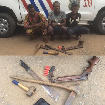 Cultists trained me to kill - Robbery suspect who shot a policeman