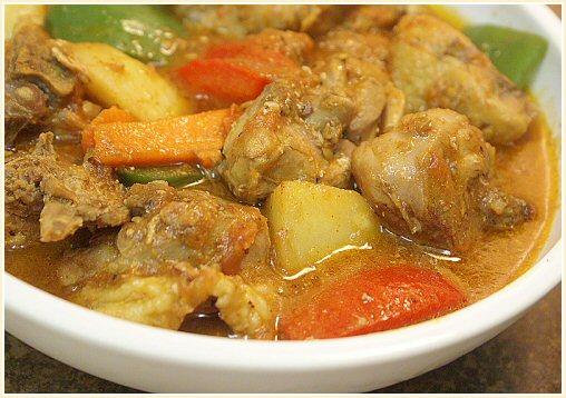 Philippines Style Recipes: chicken afritada in filipino style