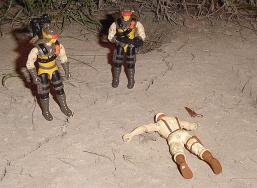 1991 Desert Scorpion, Dusty