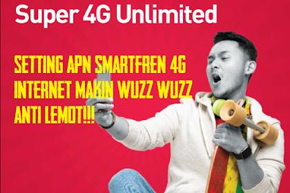 Cara Setting APN Smartfren 4G Agar Cepat