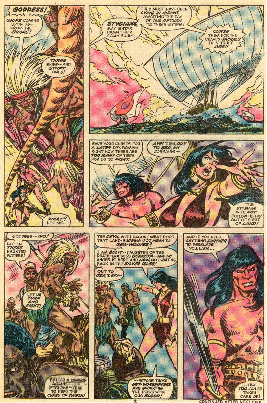 Conan the Barbarian (1970) Issue #65 #77 - English 4