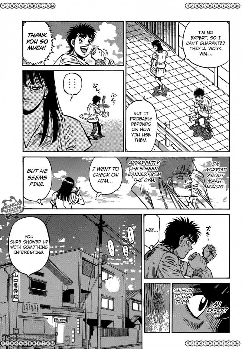 Hajime no Ippo - Chapter 1157