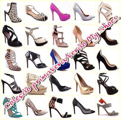 Lançamento;Coleção primavera/verão da My Shoes