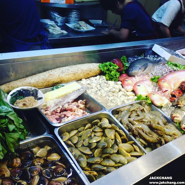 各種各樣的海鮮