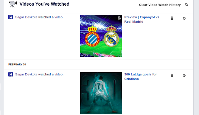 Image of Watched videos history How to Find History of Watched Videos on Facebook