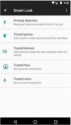 Cara Mengaktifkan Smart Lock Ponsel Android
