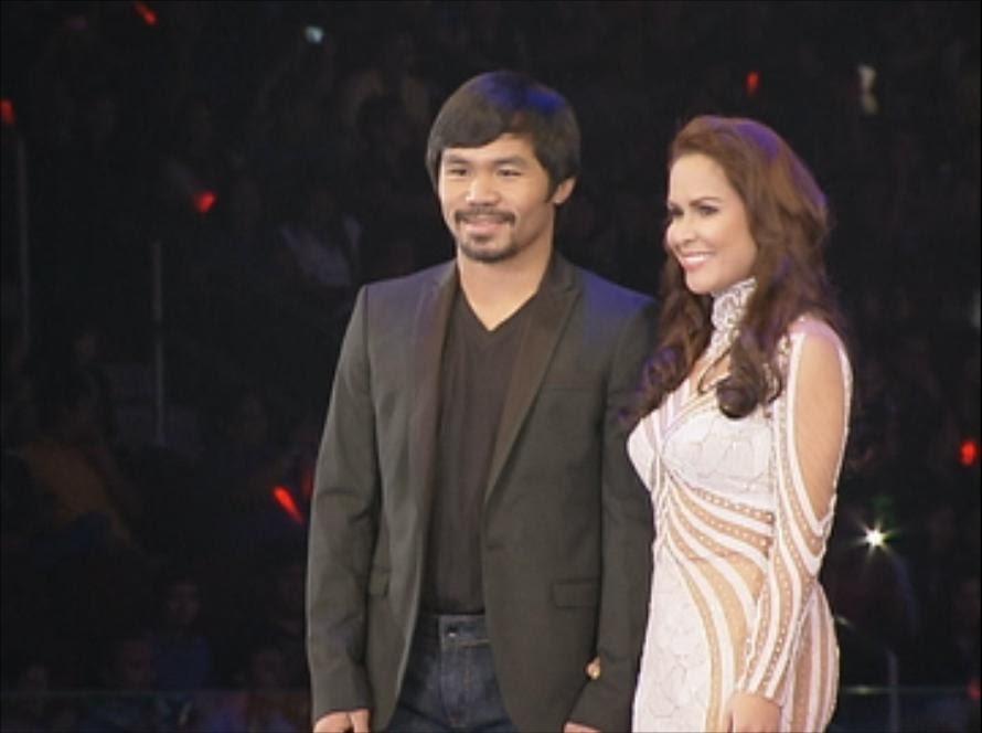 ALL SPORTS PLAYERS: Manny Pacquiao Wife Jinkee Pacquiao 2013