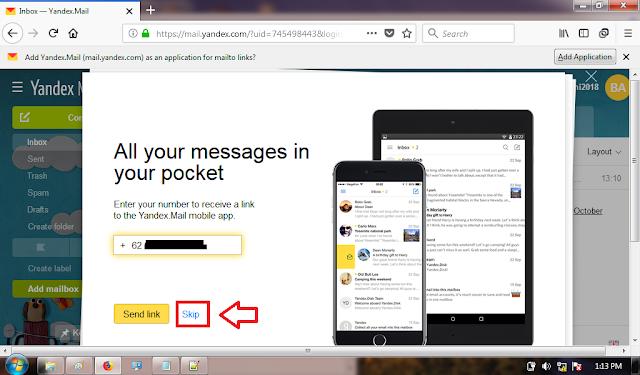 Cara Membuat Email Gratis di Yandex Mail