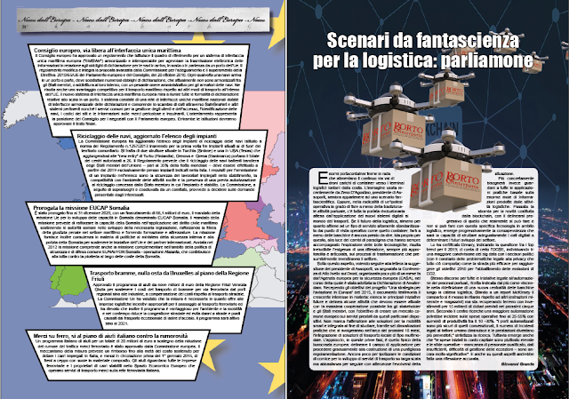 GENNAIO 2019 PAG. 8 - NEWS DALL' EUROPA