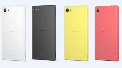 Sony z5 compact quốc tế có thiết kế đẹp và hiện đại.