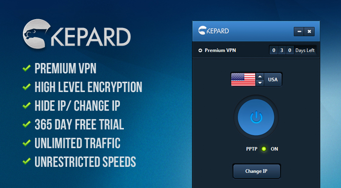 Giving Away: 3 Premium Kepard VPN Accounts for Free - latest tech tips