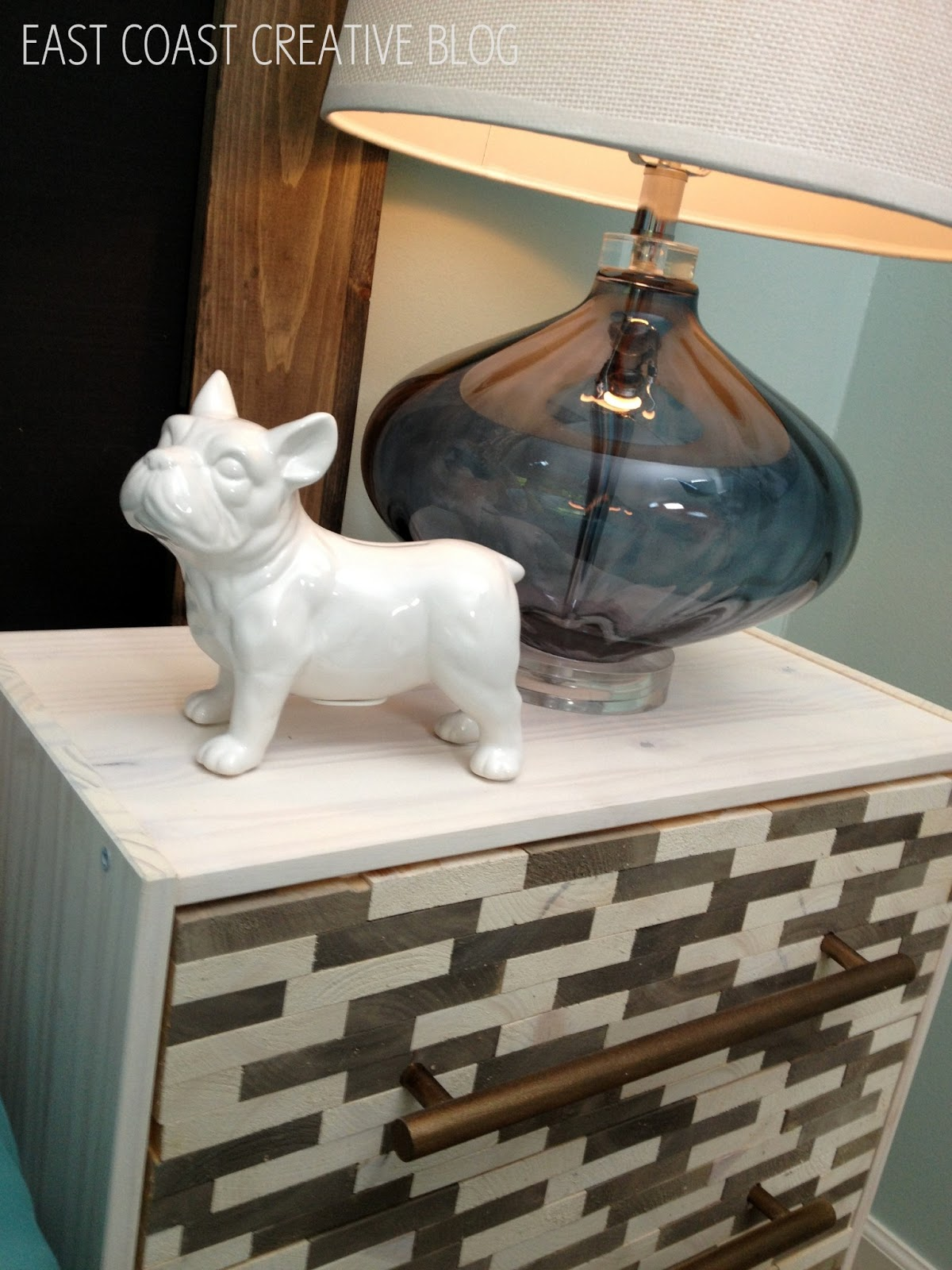 Diy Knock Off Shelves: Wood-Tiled Nightstands {Knock It Off DIY Project}