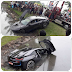 Minister Kabir's relative, owner of BMW which fell into Thalawathugoda lake having knocked 2 vehicles ... missing!